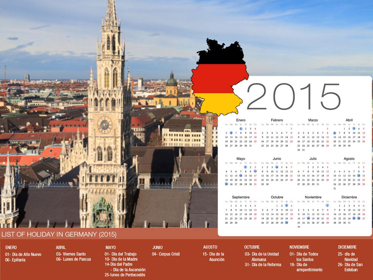 Calendario de vacaciones Alemania-800x600