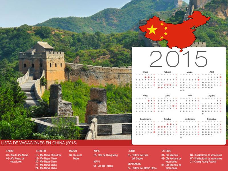 Calendario de China de vacaciones-800x600