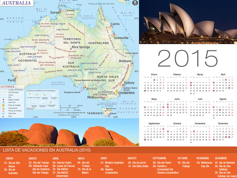 Calendrier de vacances Australie-800x600