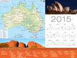 Calendrier de vacances Australie