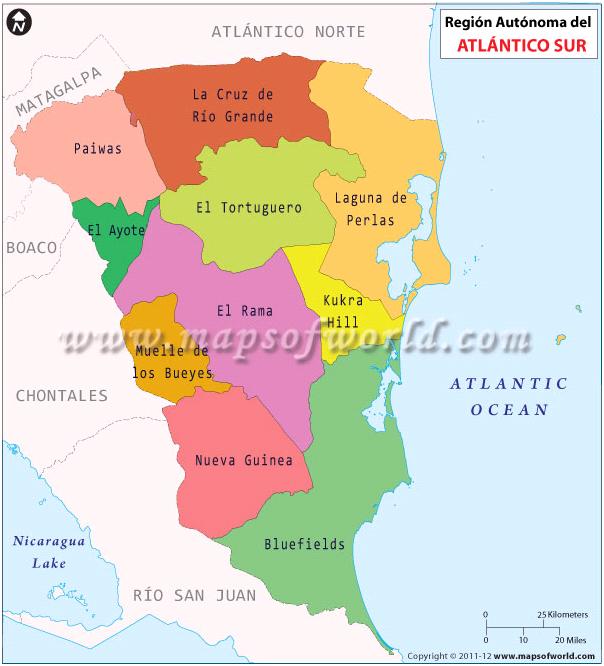 Mapa de Raas