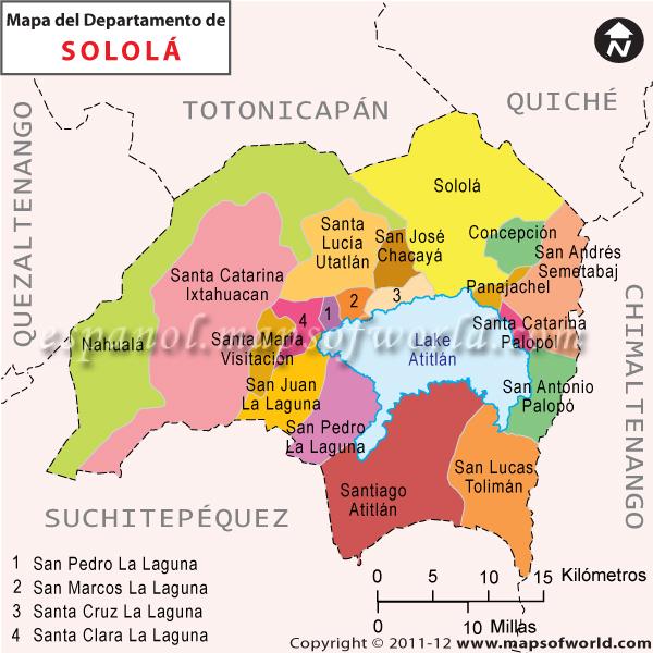 Mapa de Solola