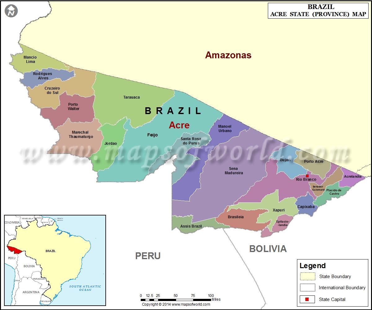 Mapa Acre