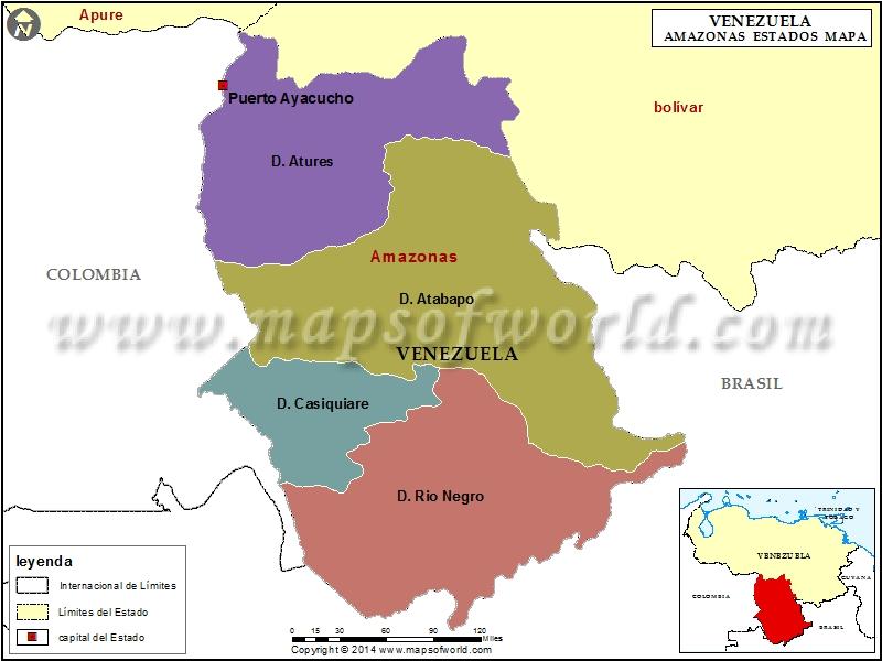 Mapa de Amazonas
