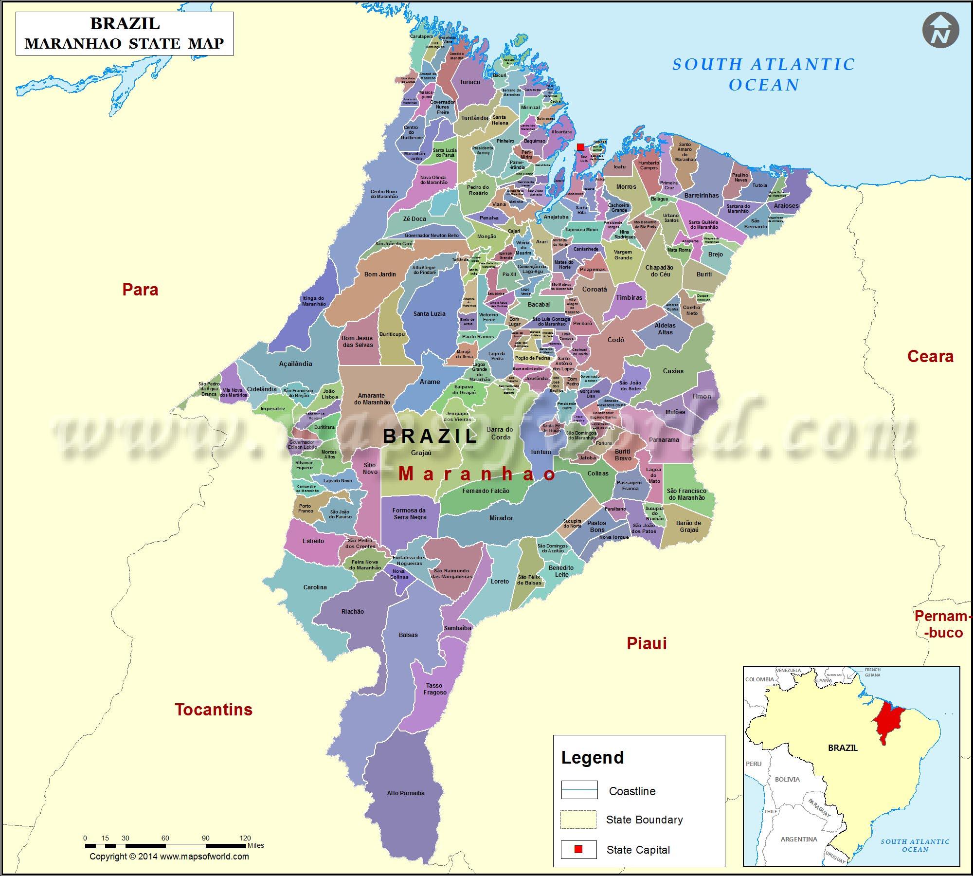 Mapa Maranhao