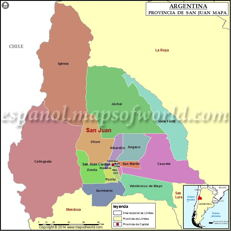 Mapa de San Juan