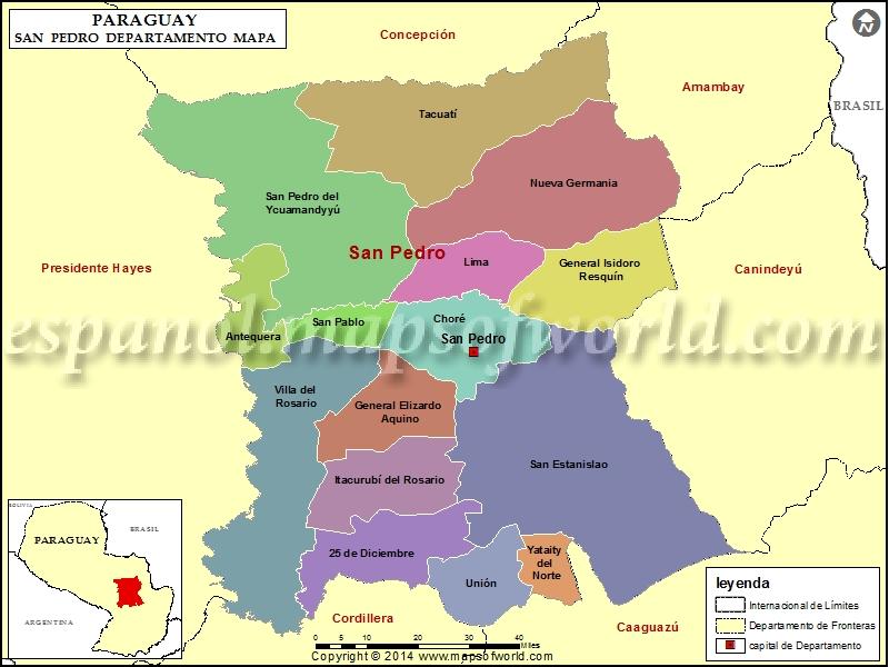 Mapa de San Pedro