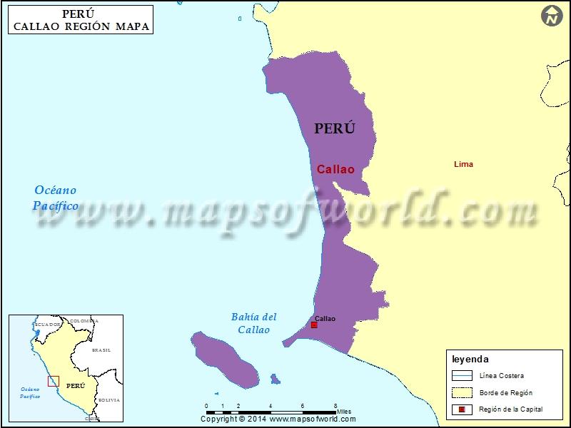 Mapa del Callao