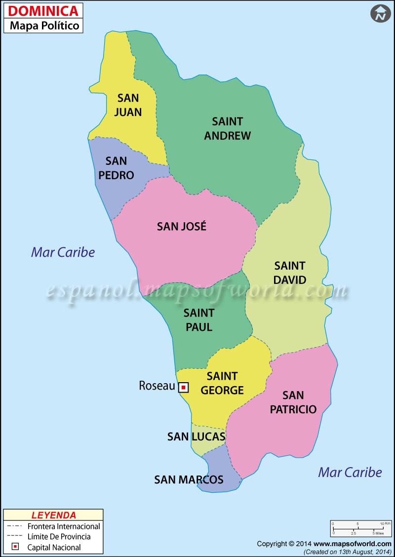 Dominica Mapa