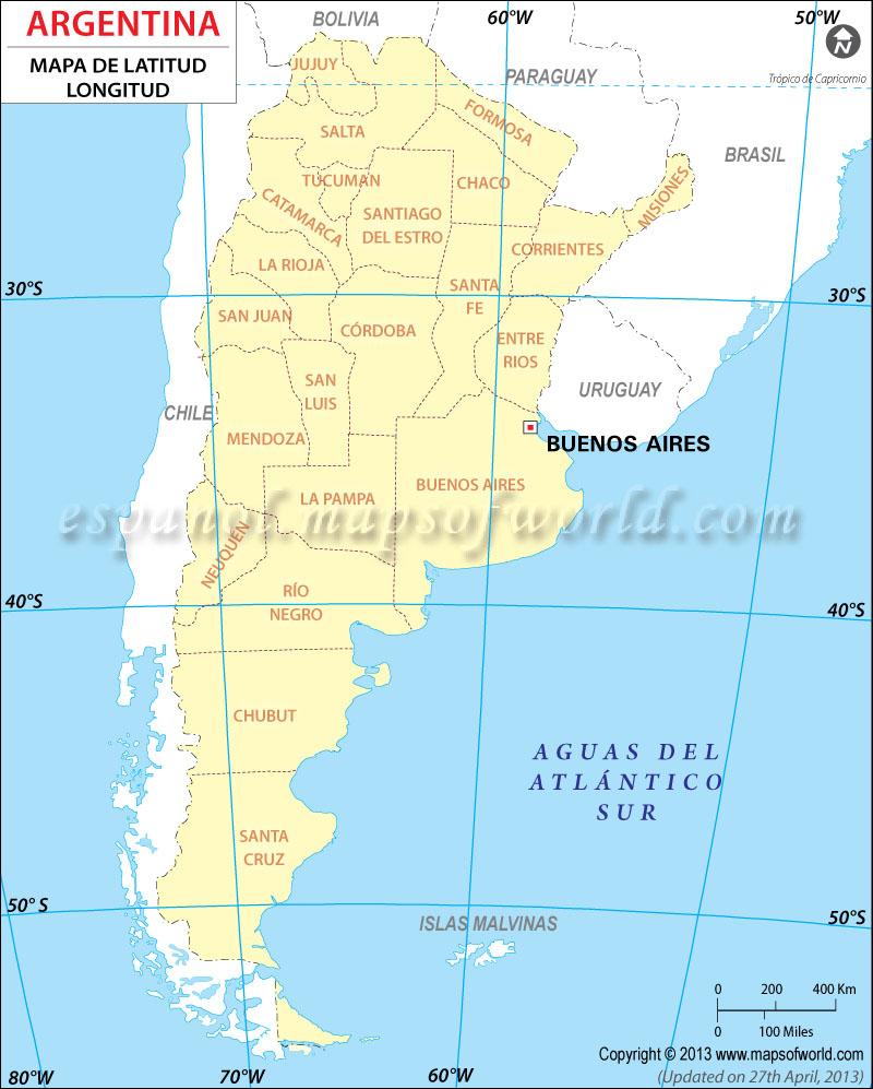 REPUBLICA ARGENTINA Mapa-con-latitud-y-longitud-de-argentina